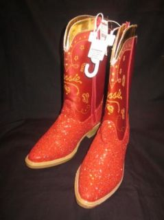 NWT  Toy Story JESSIE girls costume red sparkle boots 2/ 3