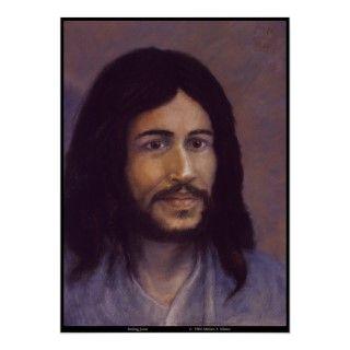 Jesús sonriente, imagen judía de Jesús Poster de