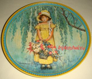 Jessie Willcox Smith Childhood Holiday Memories Easter Plate Orig BX