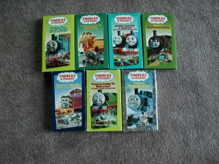 Friends VHS Tapes  Thomas & Jet Engine, Thomas, Percy & Dragon, Snowy