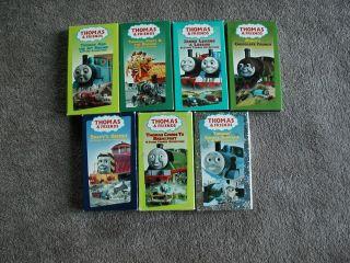 Friends VHS Tapes  Thomas & Jet Engine, Thomas, Percy & Dragon, Snowy