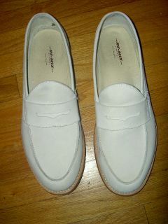John C Reilly White Suede Penny Loafers Walk Hard The Dewey Cox Story
