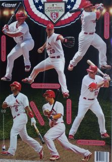 St Louis Cardinals Player Mini Fathead Official MLB Vinyl Wall Graphic