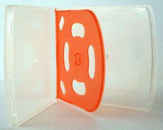 Slim Quad 4 CD DVD Poly Jewel Cases  Packman Cases