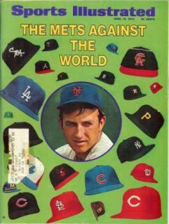 Vintage Sports Illustrated Jerry Koosman New York Mets