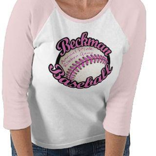 Beckman Baseball Annual Pink Ribbon Game 2011 A Shirt