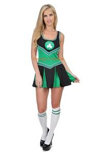 Licensed NBA Boston Celtics Basketball Cheerleader Jersey Dress