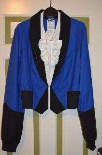 Adidas Jeremy Scott Ruffle Suit Tuxedo Jacket M Medium