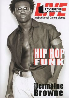 Jermaine Brown Hip Hop Funk DVD Instructional Dance Video Learn Cool