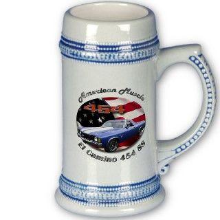 Chevy El Camino 454 SS Stein Mugs