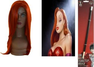 Deluxe Jessica Rabbit Wig Fancy Dress Costume Kits