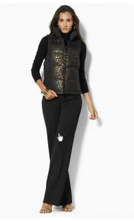 179 Ralph Lauren Jessie Reversible Puffer Vest 1x