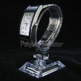 50pcs x New Clear Acrylic Jewelry Watch Retail Display Showcase Stand
