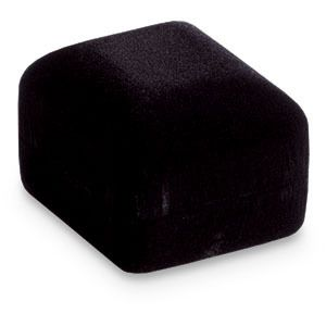 Veltex Black Single Ring Box Jewelry Box Engagement