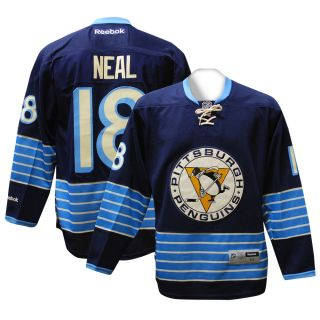 Pittsburgh Penguins James Neal RBK Navy 3rd Premier Jersey XL