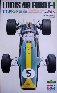 PERFECT DECAL SHEET 1 12 Tamiya JIM CLARK Lotus 49 Ford F 1 Model Kit