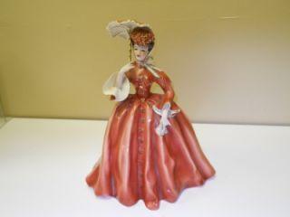 Florence Ceramics Vivian Lady Figurine with Parasol