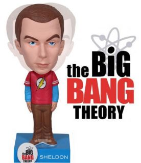 The Big Bang Theory Sheldon Cooper Flash Bobble Head Funko Jim Parsons