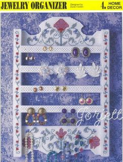 Jewelry Organizer Annies Plastic Canvas Patterns