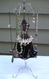 Dress Form JEWELRY ORGANIZER~Tree Display Stand Holder Rack~Necklace B