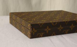 Louis Vuitton Travel Jewelry Trunk Hard Case Vintage