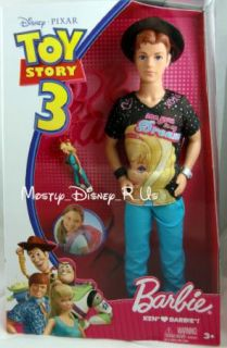 Barbie Loves Ken Jessie Disney Toy Story 3 Doll Lot Set