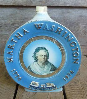 Jim Beam Martha Washington Collectible Bottle Decanter