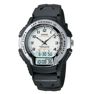 Analog Digital 10 Lap Memory Mens Wrist Watches WS300 7BV