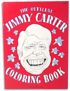 Jimmy Carter 76 President Convention Coloring Book
