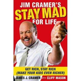 New Jim Cramers Stay Mad for Life Audiobook 5 CDs