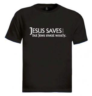 Jesus Saves T Shirt Funny Jewish Israel Jew Humor Rude