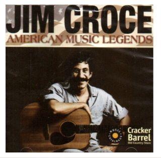 American Music Legends Jim Croce Original Recordings Cracker Barrel