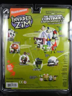 Palisades Invader Zim Almighty Tallest Red Action Figure Nickelodeon