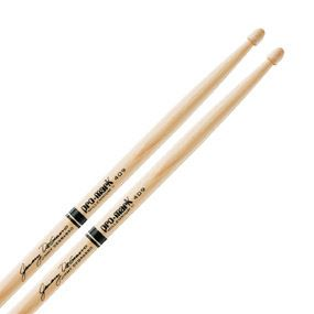 Pro Mark Jimmy Degrasso Wood Tip Hickory 409 Drumsticks 6 Pair TX409W
