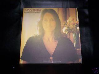 Joan Baez Diamonds and Rust Very Very Clean Album