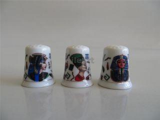 Amazing Ancient Egyptian Ceramic Porcelain Thimble Dedal Finger hut