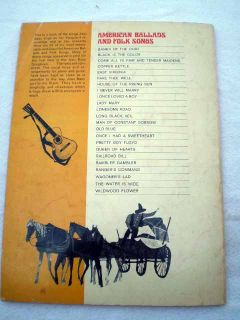 Joan Baez American Ballads Chords Lyrics Songbook