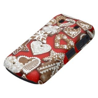 Christmas Gingerbread Cookies Stars Hearts Blackberry Bold Covers