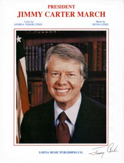 President Jimmy Carter March   1980   Words & Music By E Litkei