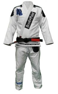 Break Point Light Weight Deluxe Jiu Jitsu Gi White A1