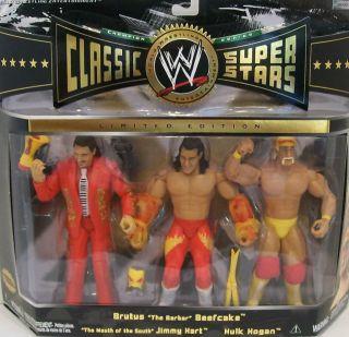 Hogan Brutus the Barber Beefcake Jimmy Hart WWE WWF Classic Superstars