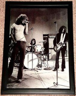 LED Zeppelin Jimmy Page Plant John Bonham Fr Portrait