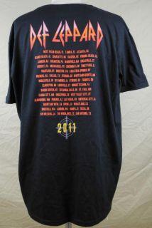 Ball 2011 Tour T Shirt Medium Black Joe Elliott Rick Allen