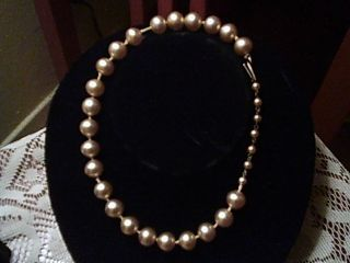 Monroe Personal Owned Faux Pearl Necklace Joe Franklin Collection LOA