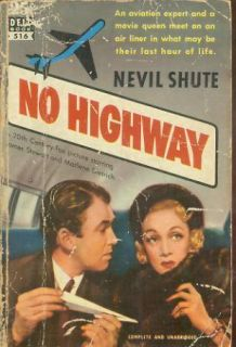 No Highway Jimmy Stewart Marlene Dietrich Movie 1958