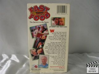 Fast Food VHS Jim Varney Traci Lords Clark Brandon 021219255036
