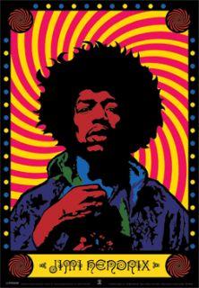 Jimi Hendrix Pop Art 3D Moving Poster New