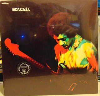 Mint 1970s Jimi Hendrix Band of Gypsys LP Vinyl Gatefold Record Album