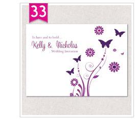 Beach Wedding Invitations Invites Personalised *Free Envelopes & Free