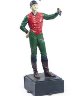 Polychrome Painted Cast Iron Lawn Jockey 21 Club New York City